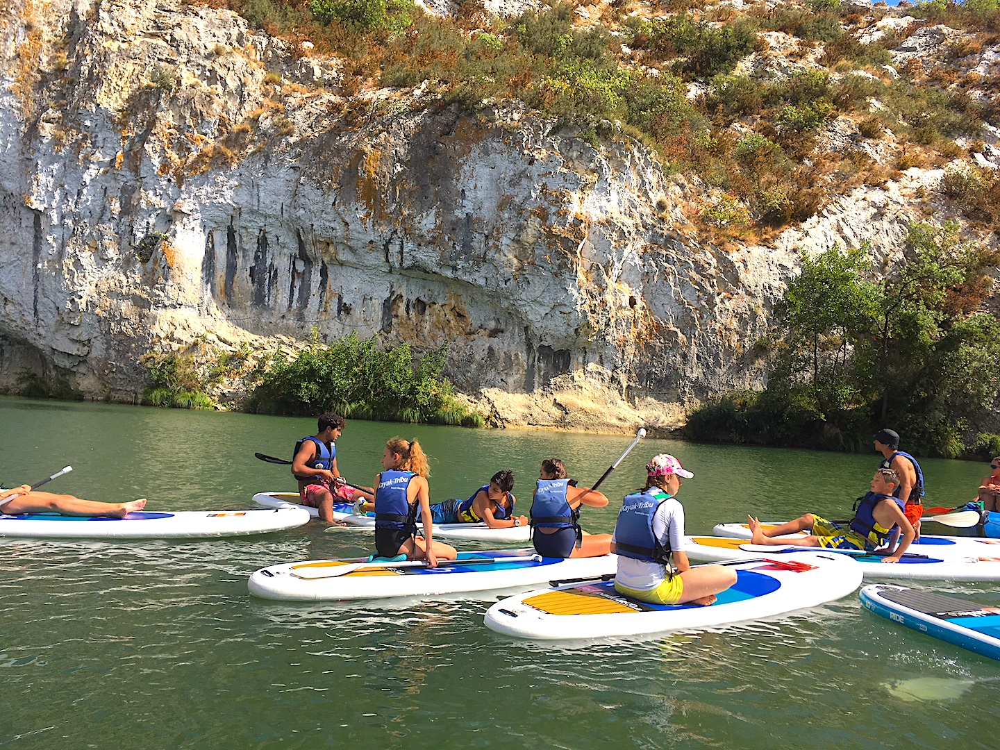 location paddle gard herault kayak tribu
